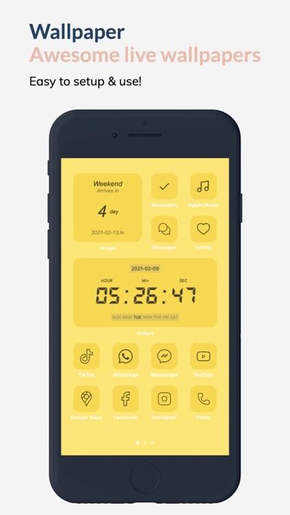 Widget Template screenshot-5