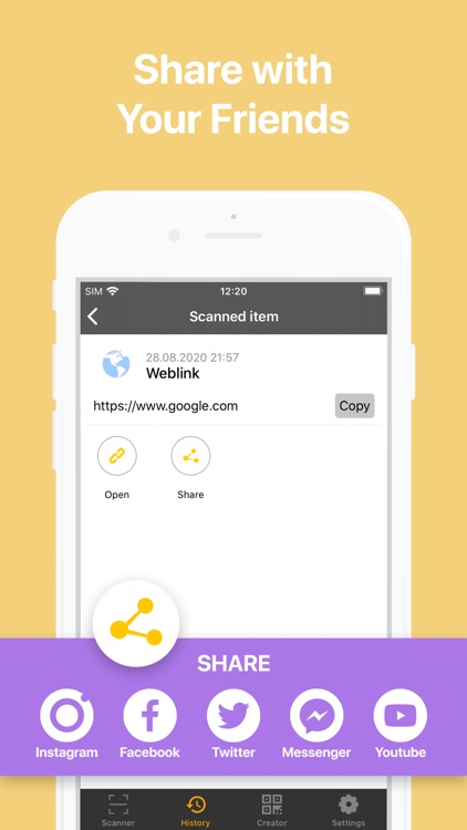QBaR - QR Code Reader screenshot-5