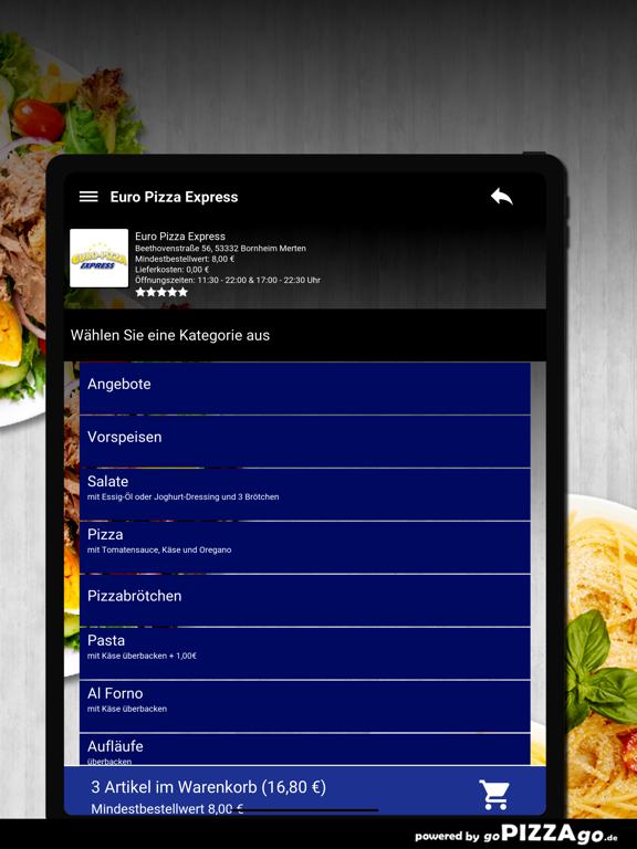 Euro Pizza Bornheim Merten screenshot 8