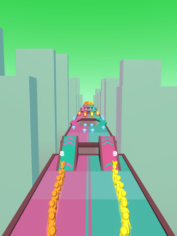 Crowd Snake Run screenshot 9
