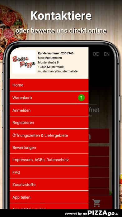 Bains Pizza Schwabmünchen screenshot 3