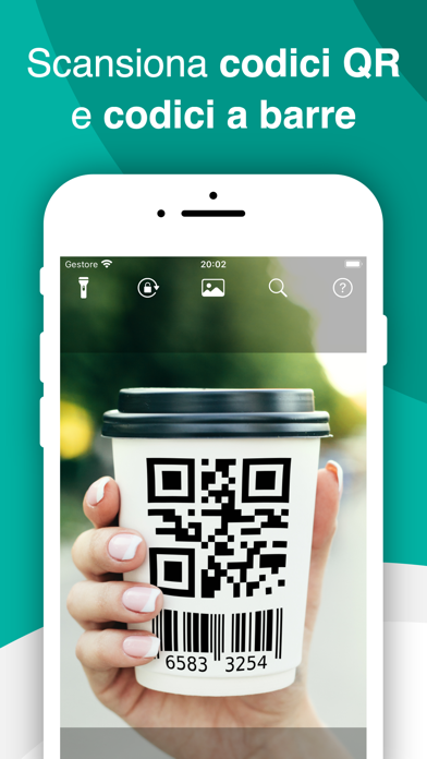 QR Code & Barcode Scanner iPhone