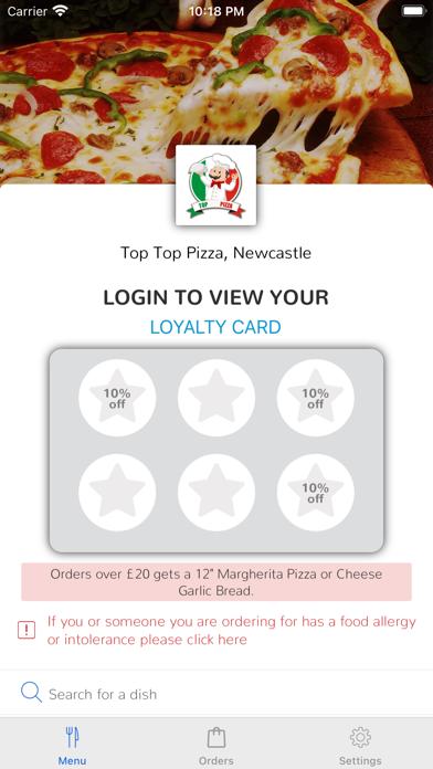 Top Top Pizza, Newcastle screenshot 1