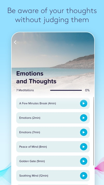 Crea Meditation: Calm Mind screenshot-3