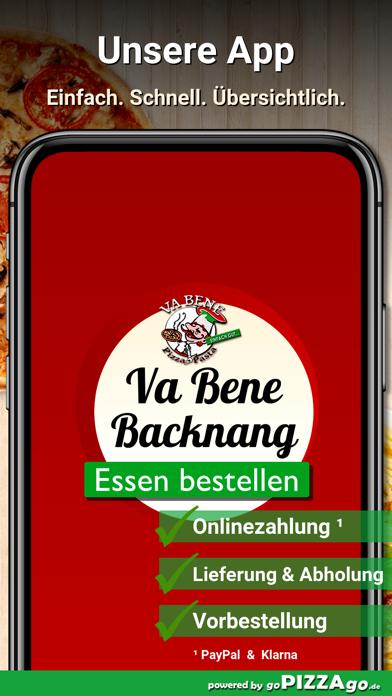 Va Bene Pizza - Pasta Backnang screenshot 1