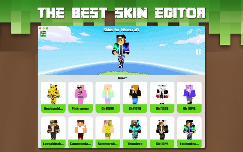 Skins for Minecraft PC • screenshot 1