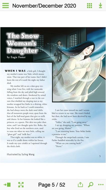 Cricket Mag: Literature & Art screenshot-3