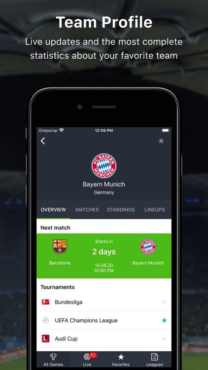 777score - Live Sports Scores screenshot-5