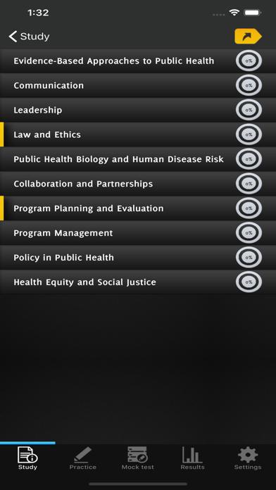 Certified Public Health Exam screenshot 2