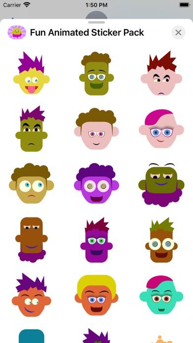 Fun Animated Sticker Pack Screenshot