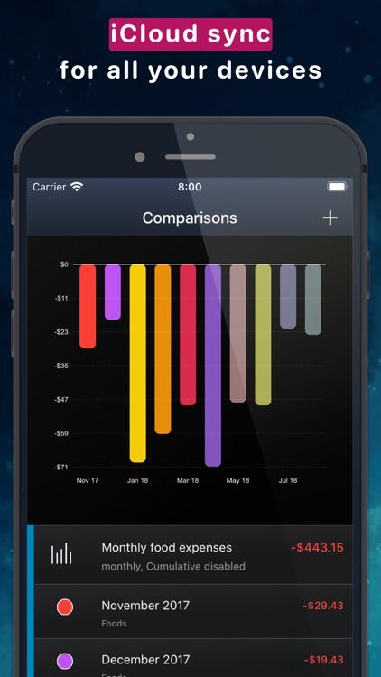MoneyStats - Budget Planner screenshot-5