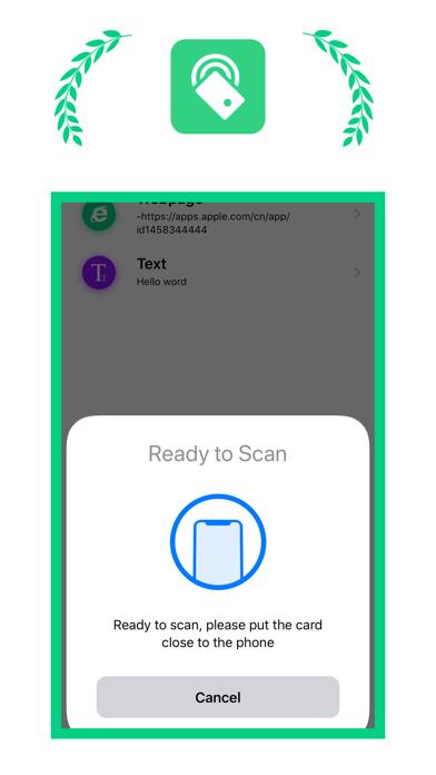 NFC - Reading and writing tool screenshot 1