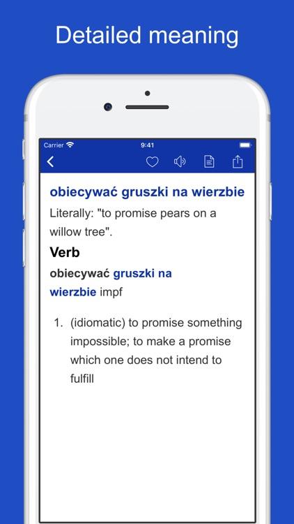 Polish Idioms and Proverbs screenshot-3