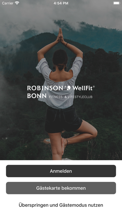 Robinson Wellfit Bonn.Screenshot von 1