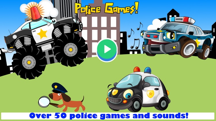 Police Car Games for Driving screenshot-0