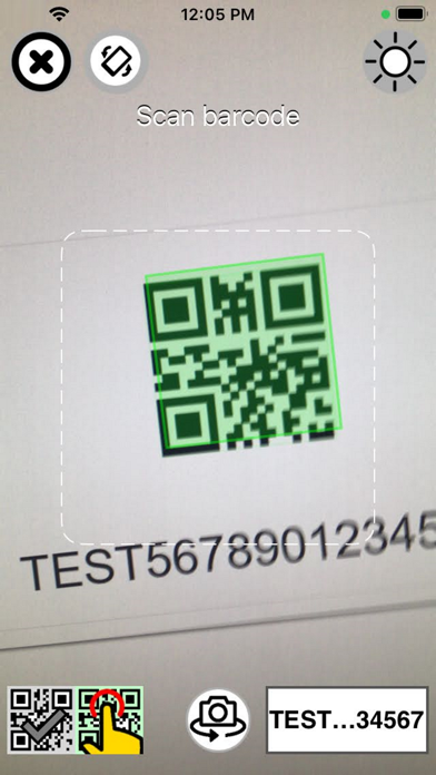 Barcode Scan to Web på PC