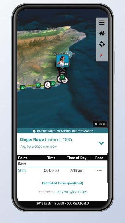IRONMAN Tracker screenshot-3