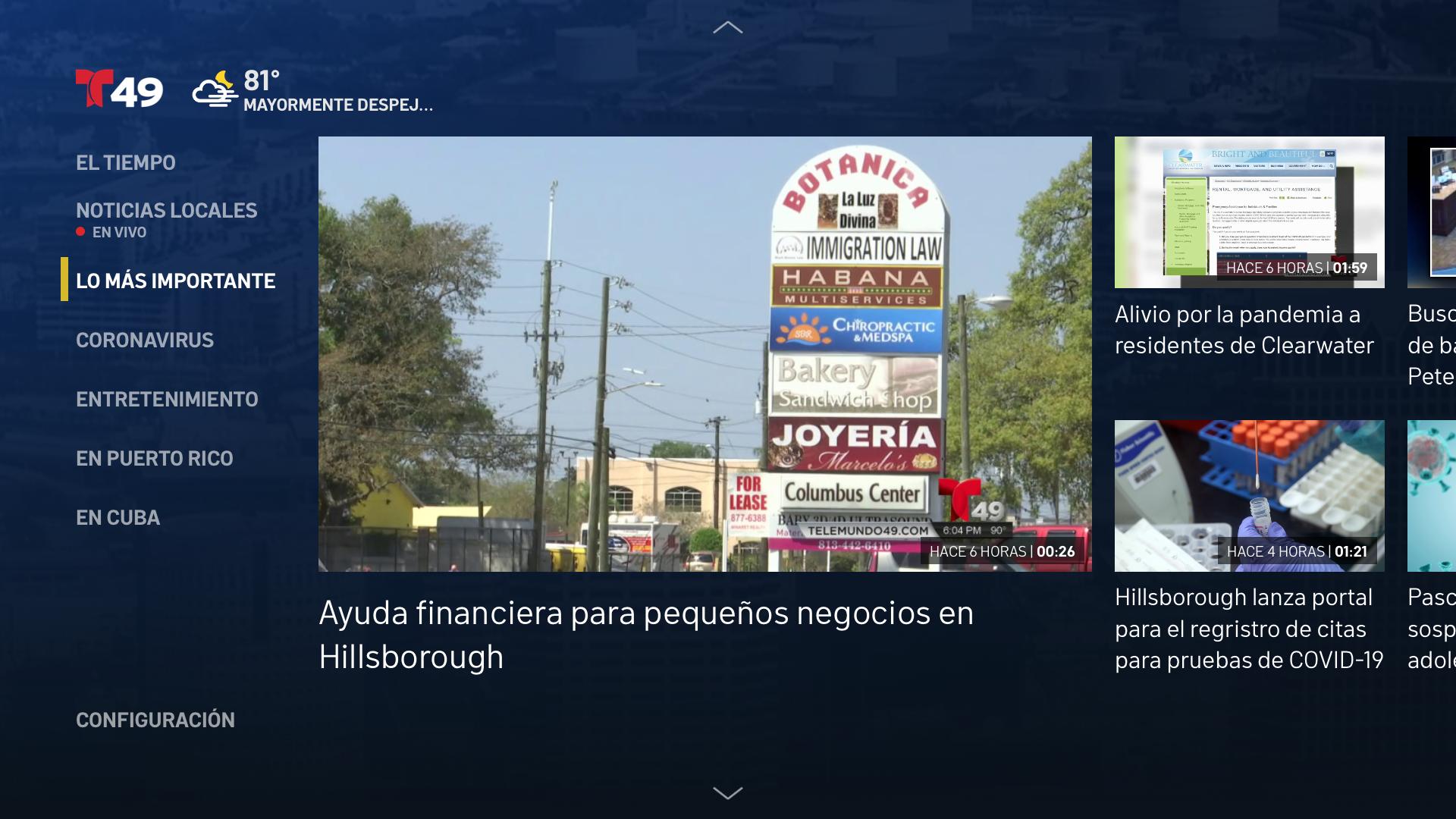 Telemundo 49 screenshot 15