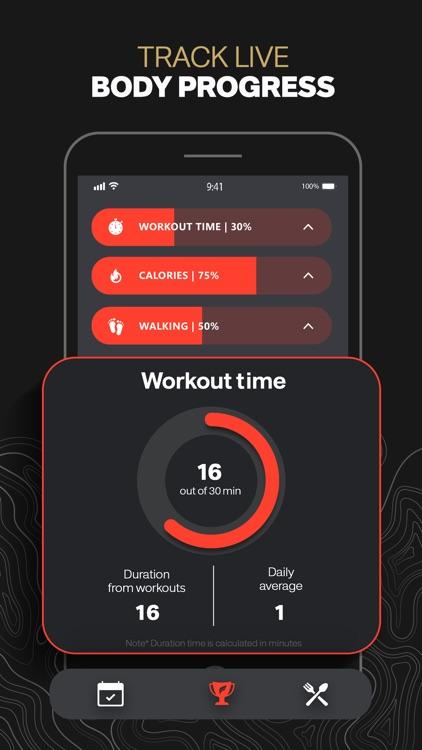 MuscleMan - Personal Trainer screenshot-4