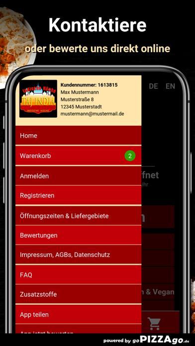 Taj India Haus Berlin screenshot 3
