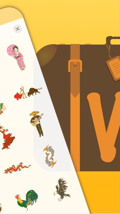 Worldy: Travel Stickers screenshot-3