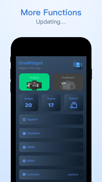 OneWidget - Widgets in One App screenshot #6