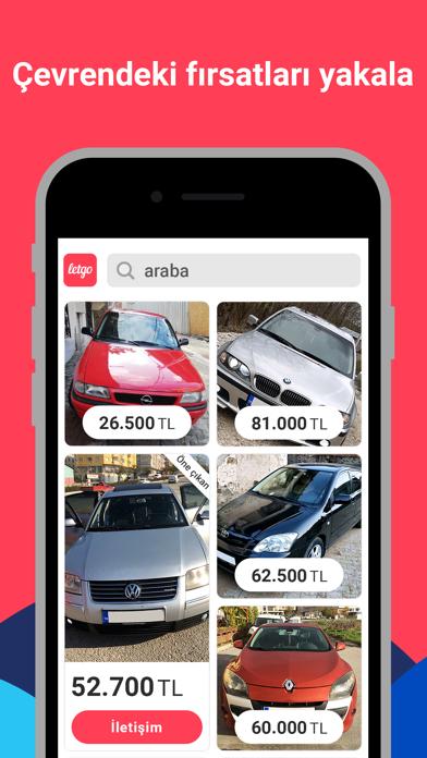 letgo: İkinci El Al ve Sat iphone ekran görüntüleri