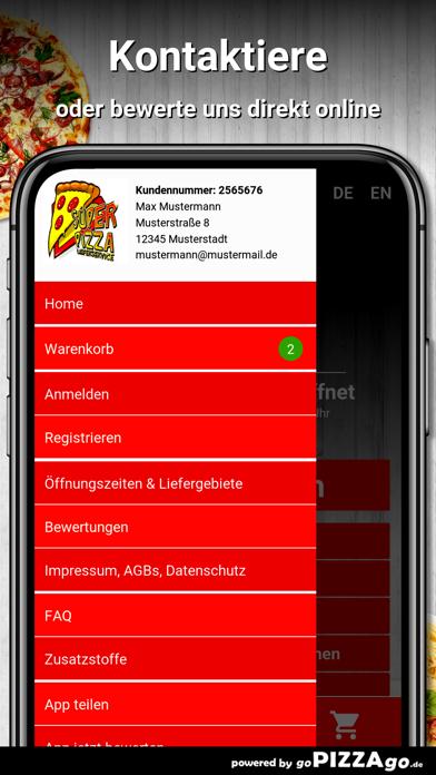 Durmersheim Super Pizza screenshot 2