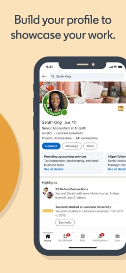 LinkedIn: Network & Job Finder app screenshot
