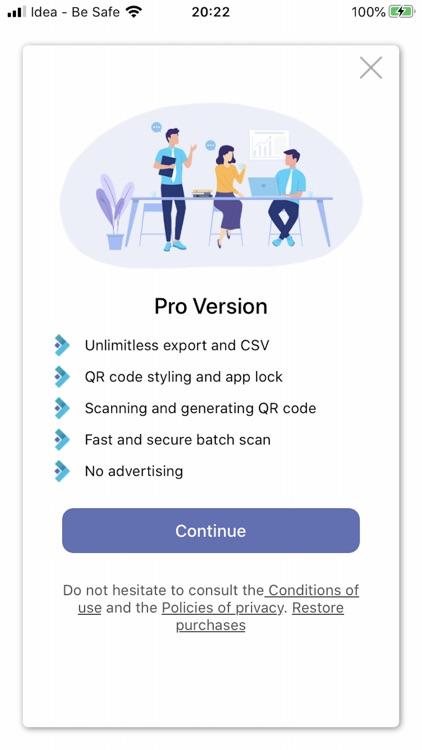 iReader - QR Code reader