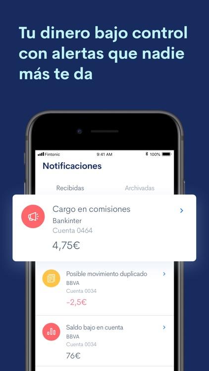 Fintonic: Tu Cuenta y Tarjeta screenshot-3