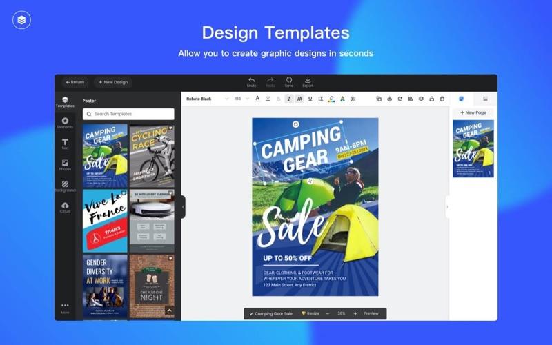 Fotor Design Screenshot