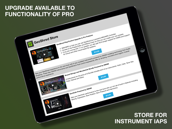 GeoShred Play Screenshots