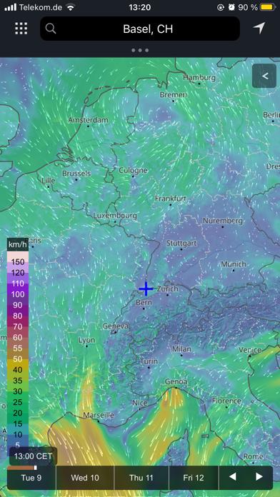 meteoblue weather & mapsのおすすめ画像3