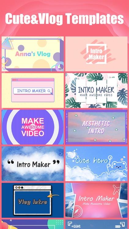 Intro Maker- yt intro designer screenshot-7