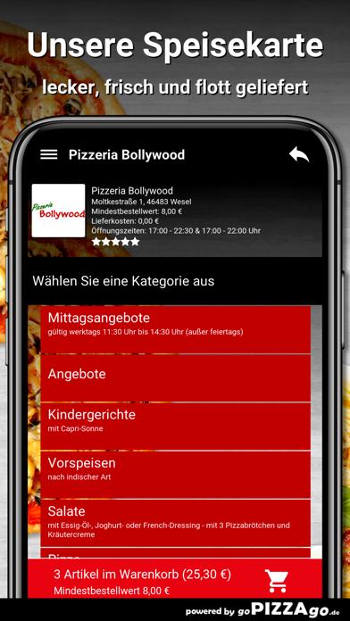 Pizzeria Bollywood Wesel screenshot 4