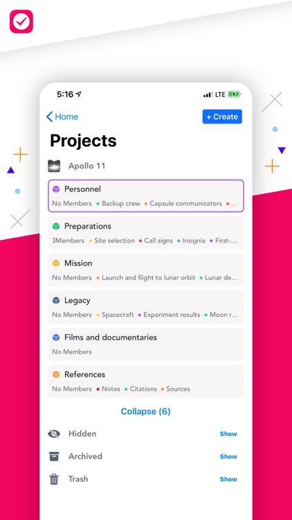 Nural - Tasks, Notes, Messages screenshot-3