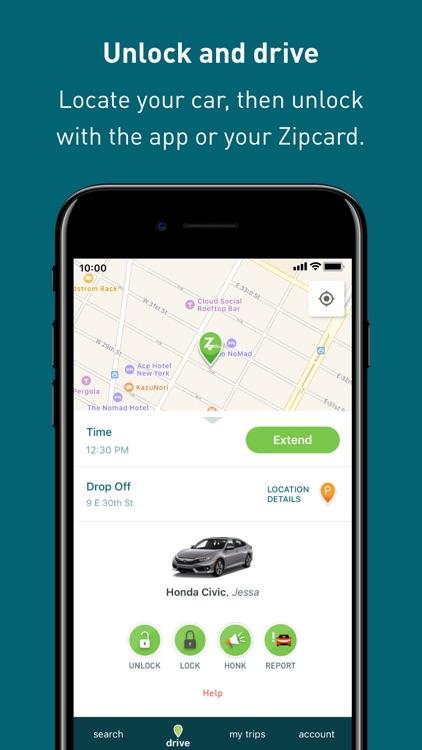 Zipcar: cars on-demand screenshot-4