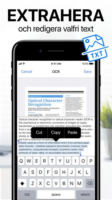 iScanner - PDF-skanner på PC