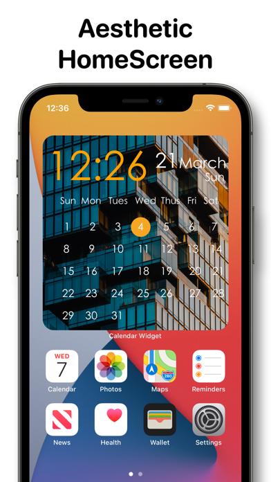 Calendar Widget - Date Widgets screenshot 5
