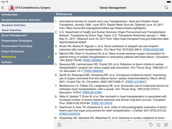 STS Cardiothoracic Surgery screenshot 12