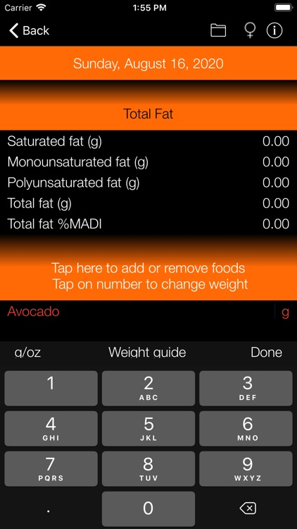 Fat Counter and Tracker