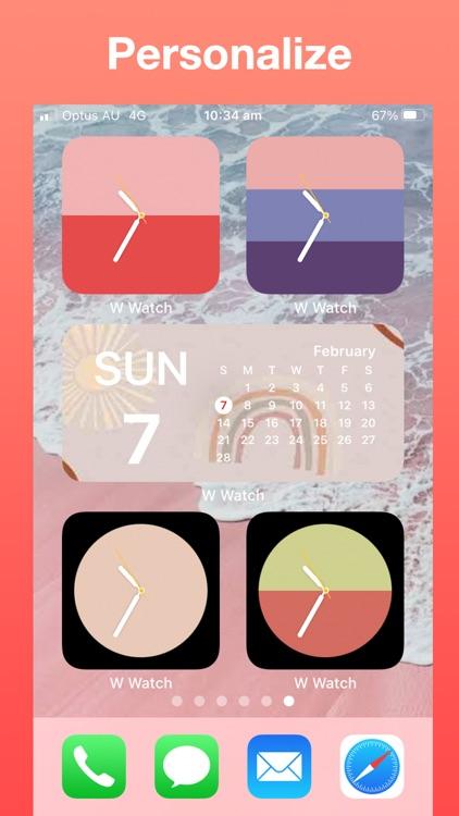 Widget Watch, Photo Calendar + screenshot-4