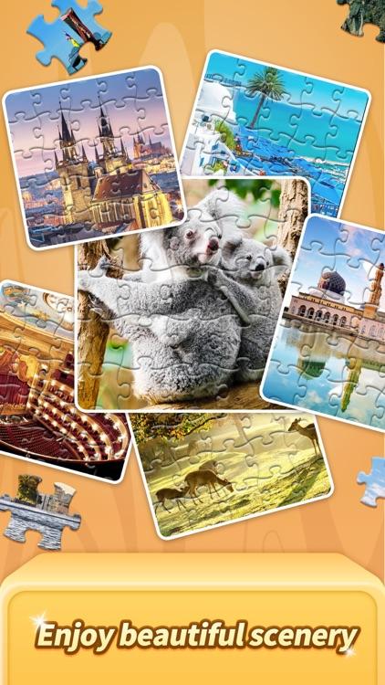 Jigsaw Trip-Relax Puzzle Games screenshot-4