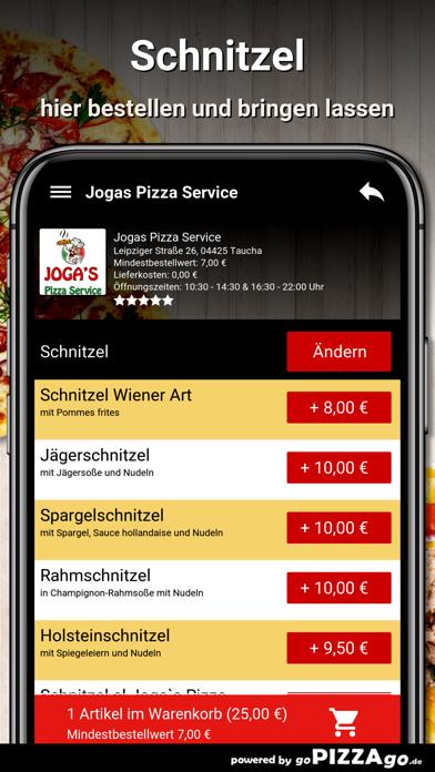 Jogas Pizza Service Taucha screenshot 6