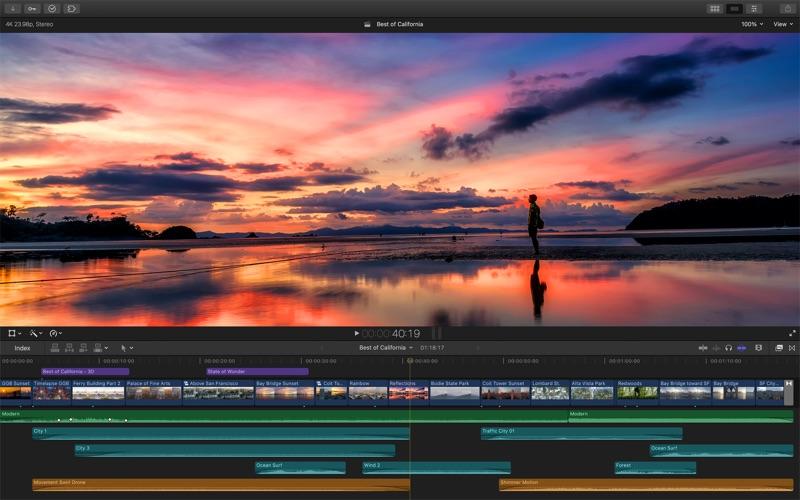 Final Cut Pro Screenshots