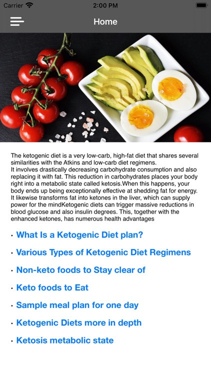 Keto Diet App Guide & Recipes