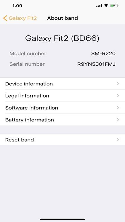 Samsung Galaxy Fit (Gear Fit) screenshot-9