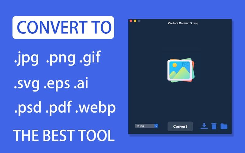 Vector Converter X Pro скриншот программы 1