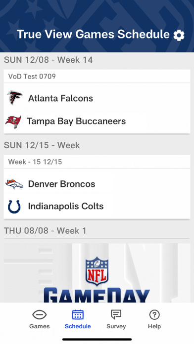 NFL GameDay in True View screenshot 3